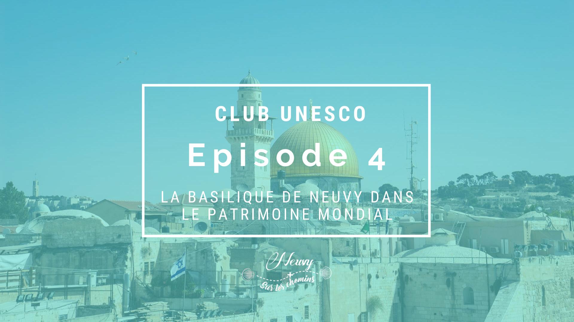 """CLUB UNESCO : """"Témoins de l'histoire, bâtisseurs d'avenir"""" avec Jérôme Beau, Archevêque du Berry"""