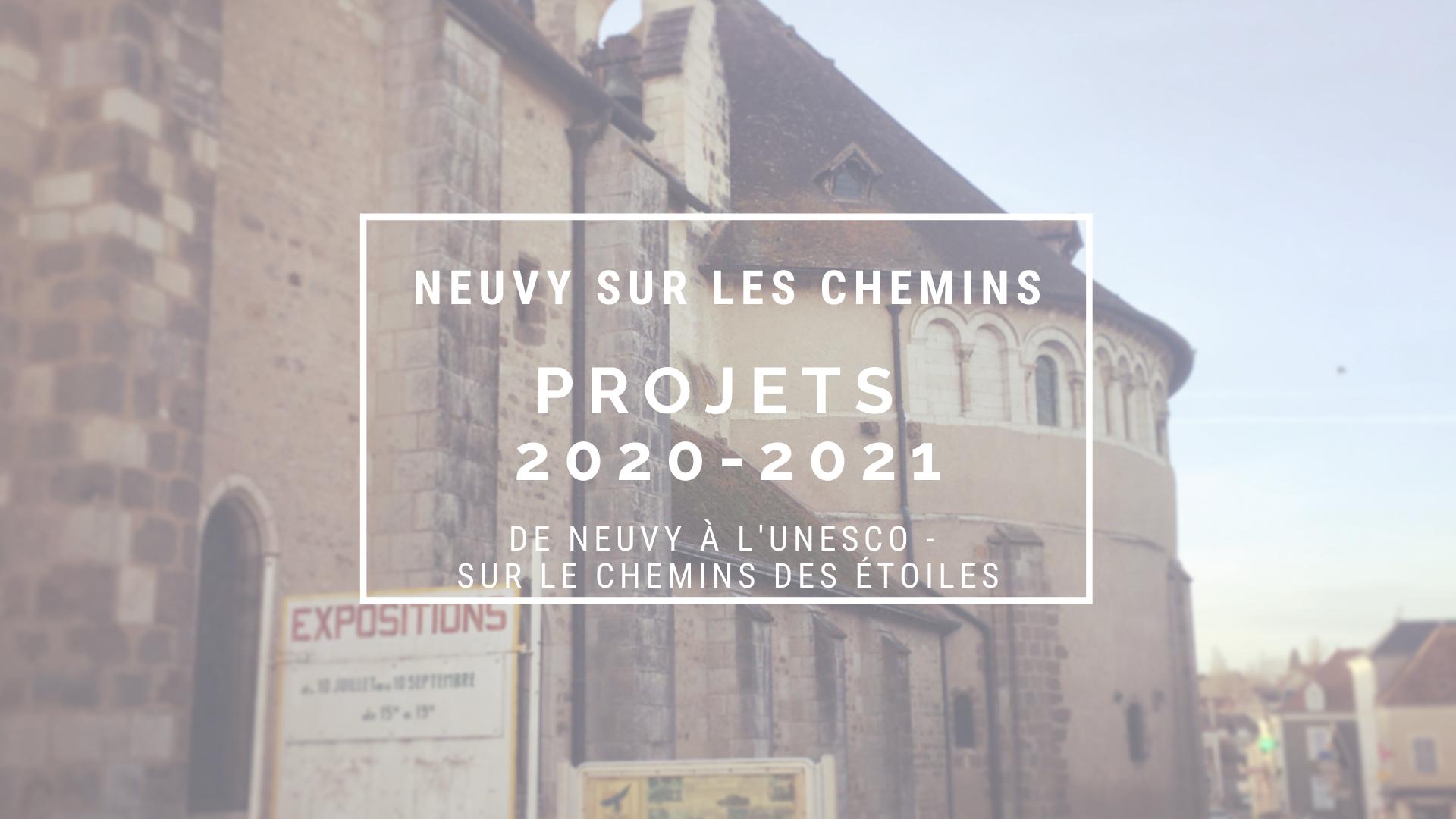 Bilan 2020 et projets 2021 Neuvy sur les Chemins